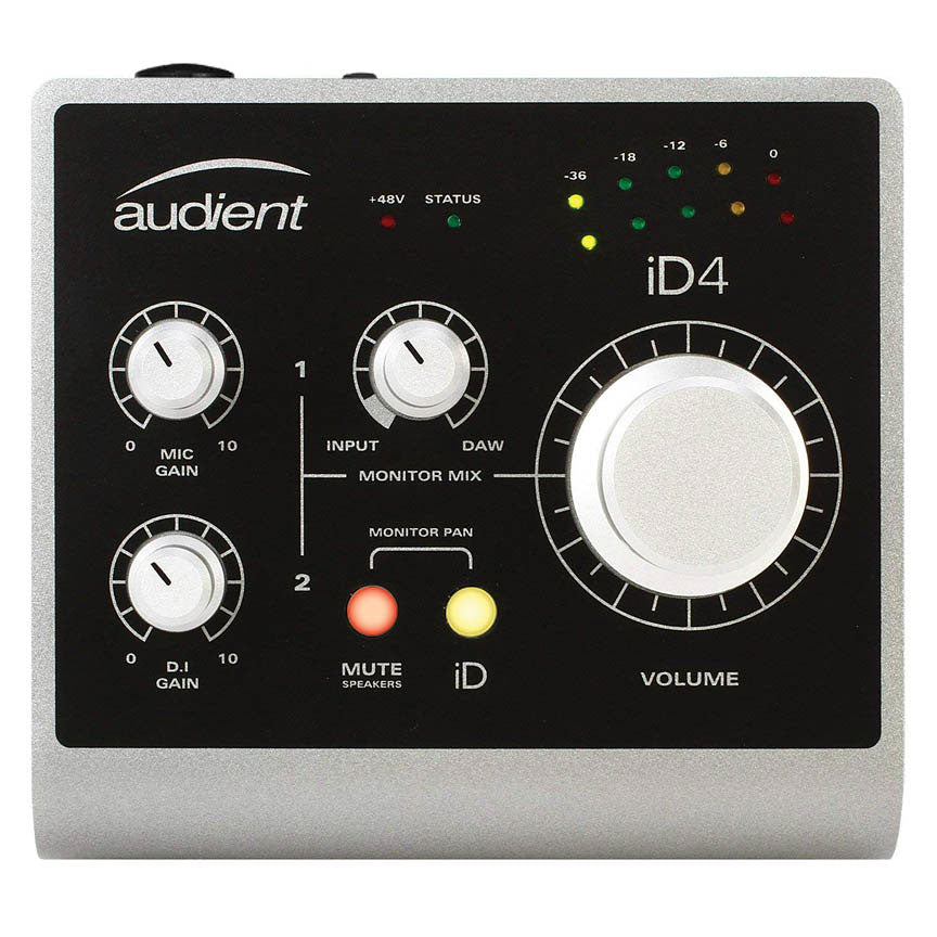 Audient iD4 - 2in / 2out High Performance Audio Interface