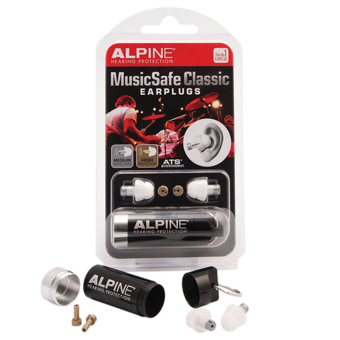 MusicSafe Classic Earplugs By Alpine Hearing Protection (HL00295904)