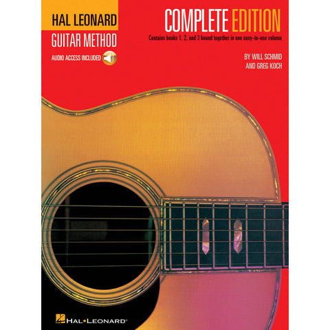 Hal Leonard Guitar Method, Second Edition – Complete: Books 1, 2 and 3