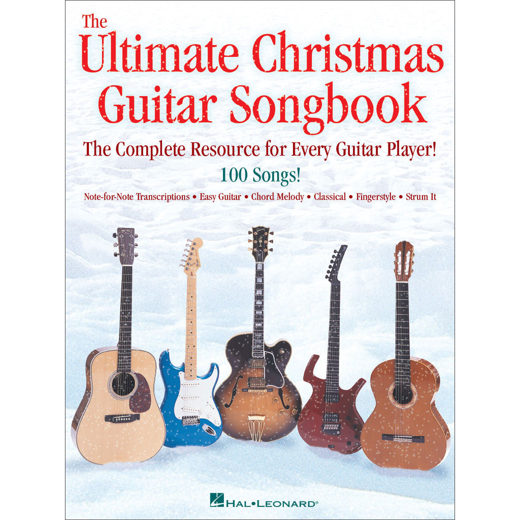 The Ultimate Christmas Guitar Songbook, 100 Easy & Classical Arrangements