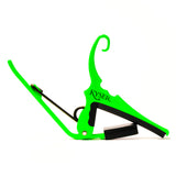 Kyser KG6NGA Neon Green Quick-Change Guitar Capo