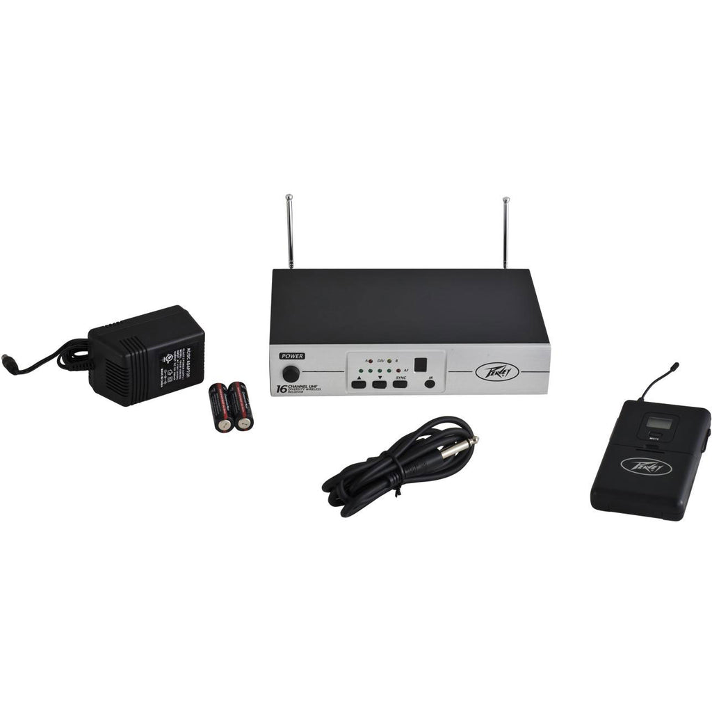 Peavey 16 Channel UHF Wireless Guitar System #03016070