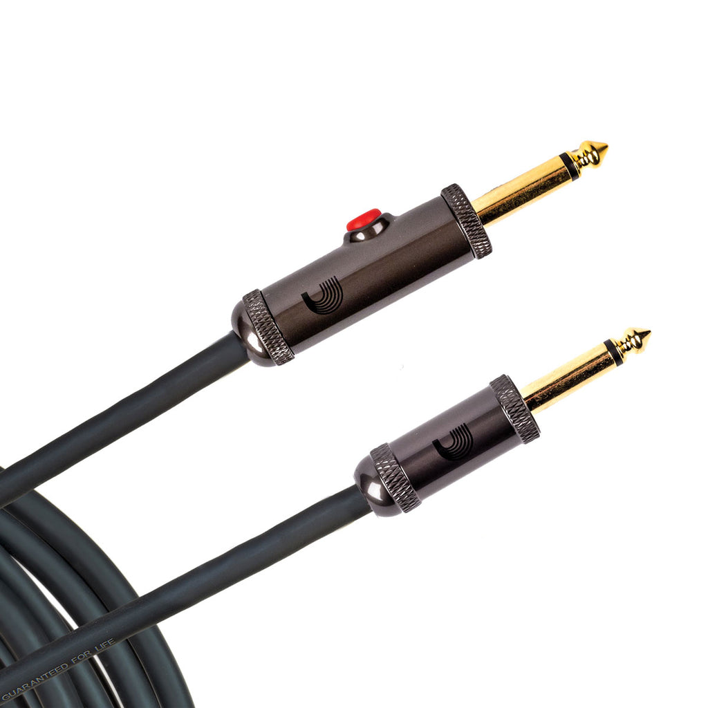10' D'Addario AGL-10 Circuit Breaker Latching Instrument Cable