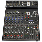Peavey PV 10BT Bluetooth Mixer, Ideal for Live Shows, Recording, Podcasting #03612790