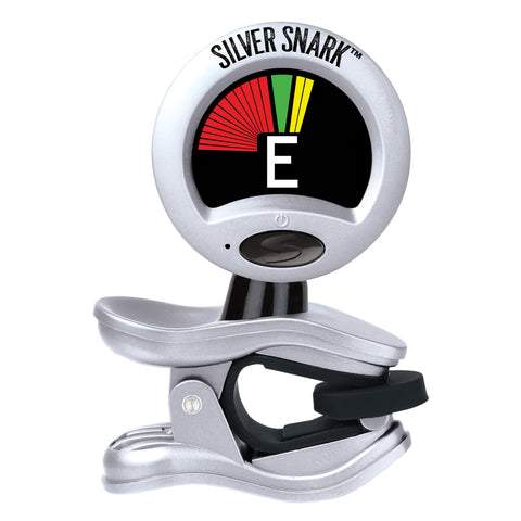 Snark SIL-1 SILVER SNARK Chromatic Hyper Fast All Instrument Clip On Tuner