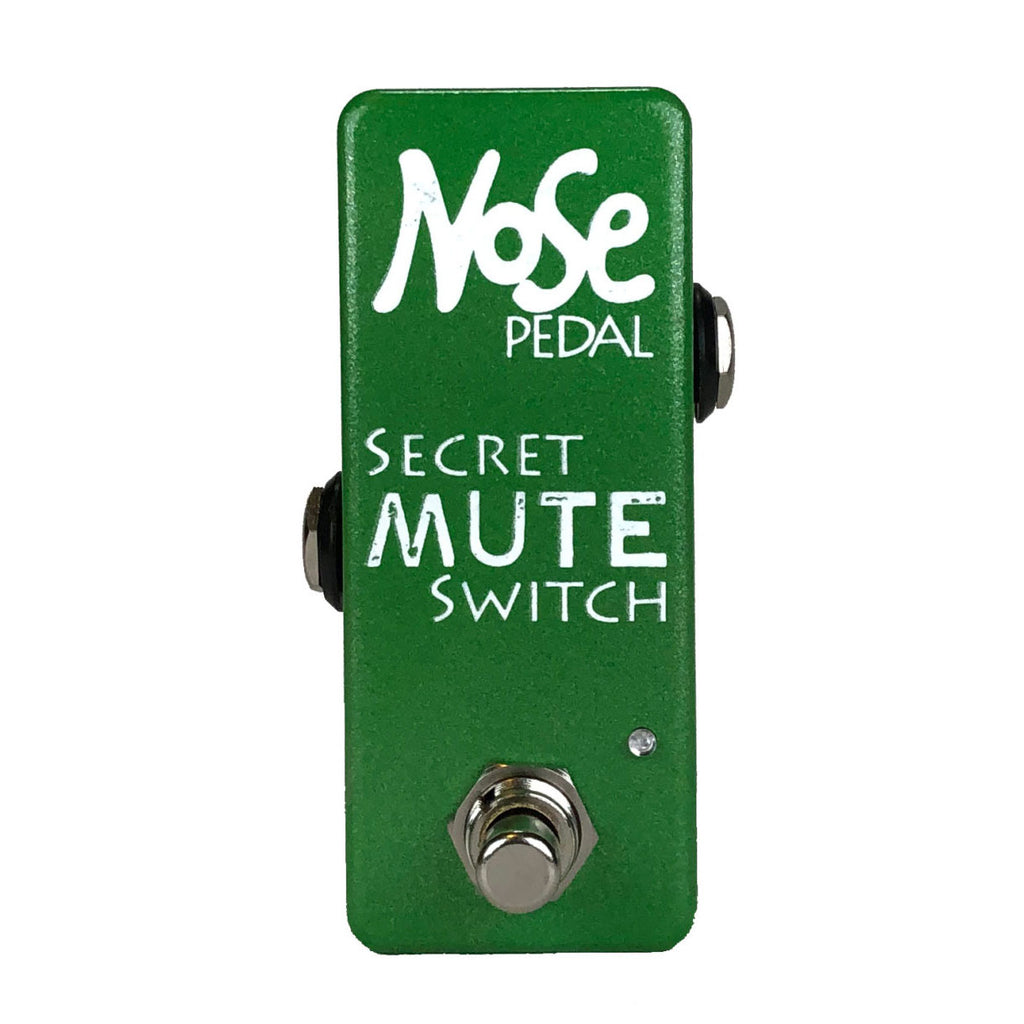 Nose Pedal Secret Mute Switch with LED Indicator