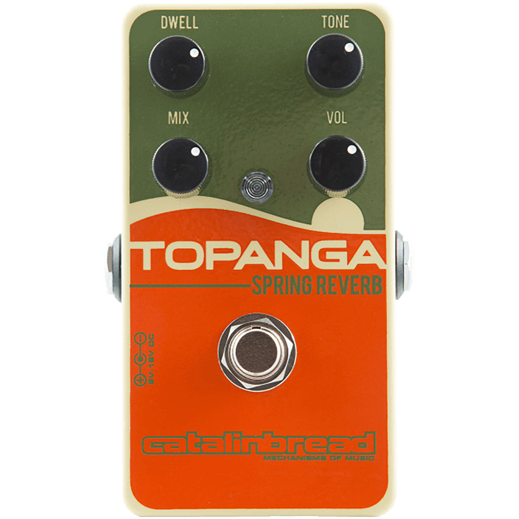 Catalinbread Topanga Outboard Style Spring Reverb
