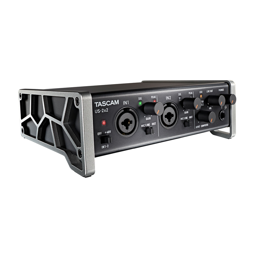 TASCAM US-2x2 2-In/2-Out USB Audio/MIDI Interface (HL00334316)