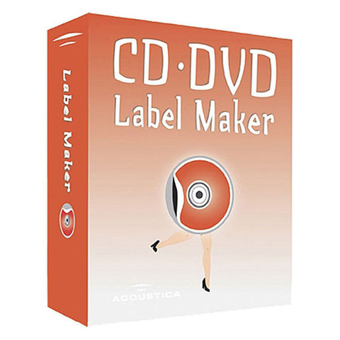 Acoustica CD/DVD Label Maker Download Software