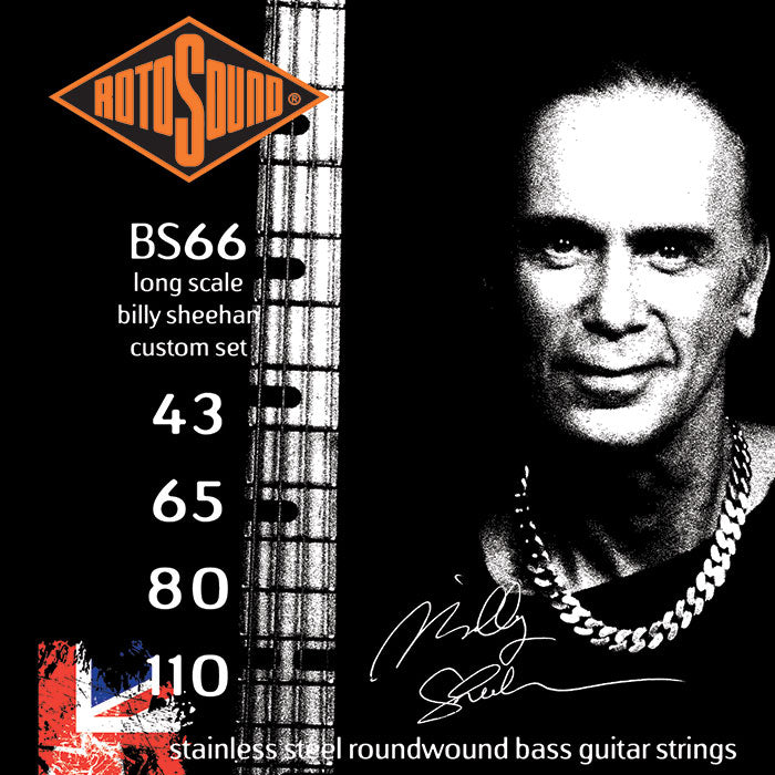 Rotosound BS66 Billy Sheehan Signature Set 43-110 Swing Bass Strings
