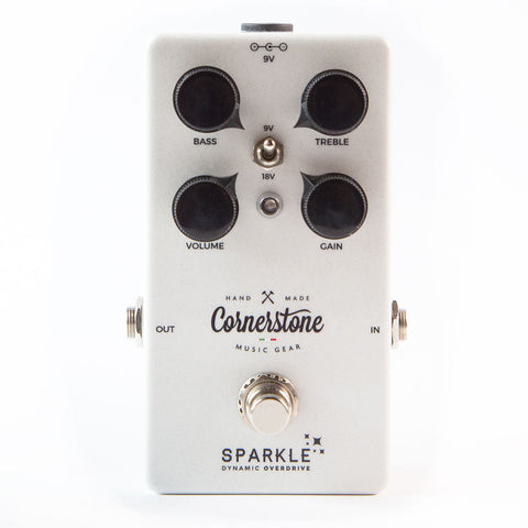 Cornerstone Music Gear Sparkle Touch Sensitive Dynamic Overdrive Pedal