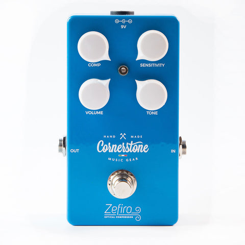 Cornerstone Music Gear Zefiro Studio Like Optical Compressor Pedal