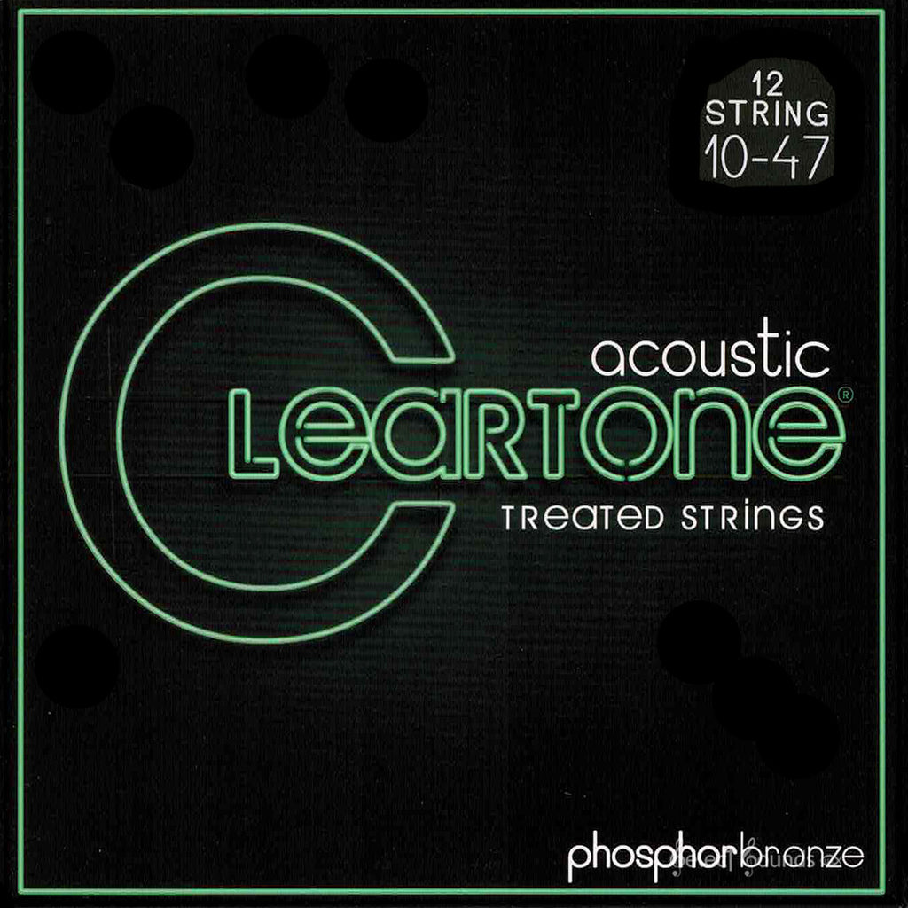 Cleartone 7410-12 Acoustic 12-String Phosphor Bronze Extra Light Strings