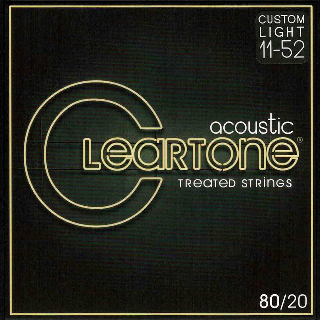 Cleartone 7611 Custom Light 11-52 80/20 Bronze Acoustic Strings