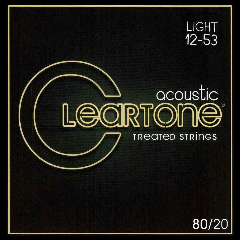 Cleartone 7612 Light 12-53 80/20 Bronze Acoustic Strings