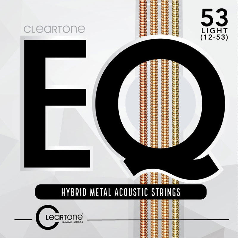 Cleartone 7812 EQ Acoustic Hybrid Metal Light (12-53) Guitar Strings