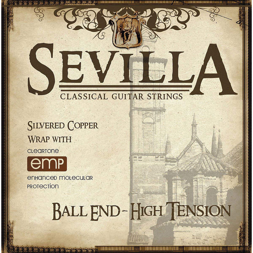 Cleartone Sevilla 8452 Classical Strings Ball End High Tension
