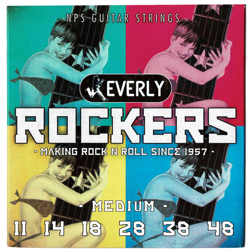 Everly 9011 Rockers Medium 11-48 NPS Electric Guitar Strings