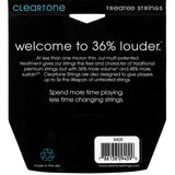 Cleartone 9409 Super Light 9-42 Electric Nickel-Plated Guitar Strings