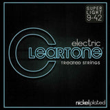 Buy 2 Get 1 FREE Cleartone 9409 Super Light 9-42 Electric Guitar Strings