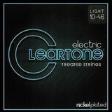 Buy 2 Get 1 FREE Cleartone 9410 Nickel Plated Light 10-46 Electric Strings