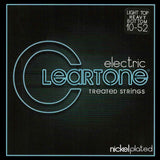 Buy 2 Get 1 FREE Cleartone 9420 Light Top Heavy Bottom, 10-52, Electric Strings