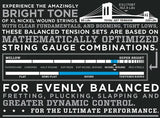D'Addario EXL170 Balanced Tension Nickel Wound Light 45-107 Long Scale Bass Guitar Strings (EXL170BT)