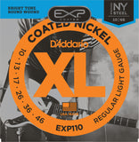 D'Addario EXP110 Coated Nickel Wound Regular Light 10-46