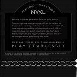 D'Addario NYXL Nickel Wound, Super Light Top, Regular Bottom, 9-46