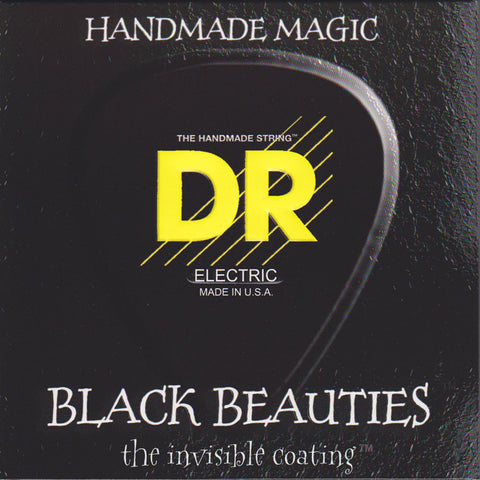 DR BKB5-45 Black Beauties 5-String Medium 45-125 Bass Guitar Strings