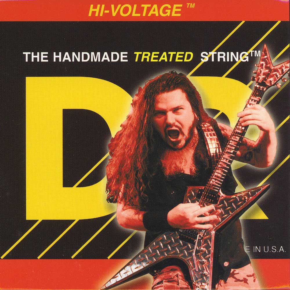 DR Strings DBG-11 Dimebag Darrell Signature Extra Heavy, 11-50, Electric Guitar Strings