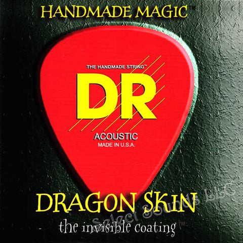 DR Strings DSA-11 Dragon Skin Medium Light 11-50 Acoustic Guitar Strings