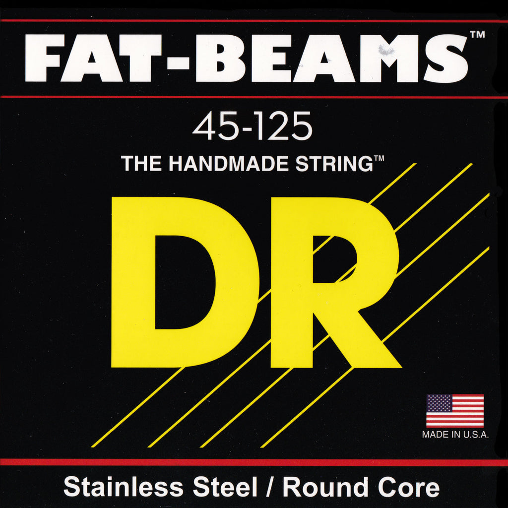 DR Strings FB5-45 5-String Fat Beam Medium 45-125 Bass Guitar Strings