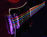 3 Sets DR Strings NMCE-9/46 Neon Hi-Def Multicolor Light Heavy 9-46 Electric Strings