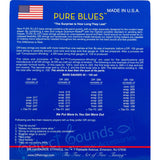 DR Strings PB5-45 Pure Blues 5-String Medium 45-125 Bass Guitar Strings