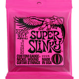 3 Sets Ernie Ball 2223 Super Slinky 9-42 Nickel Wound Electric Guitar Strings