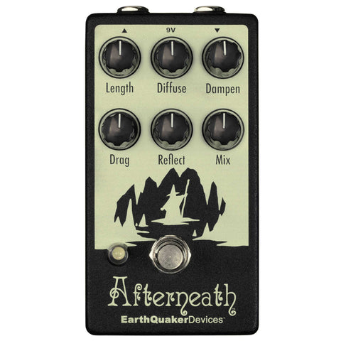 EarthQuaker Devices Afterneath V2 Delay and Reverb Effects Pedal