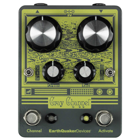EarthQuaker Devices Gray Channel Overdrive Pedal