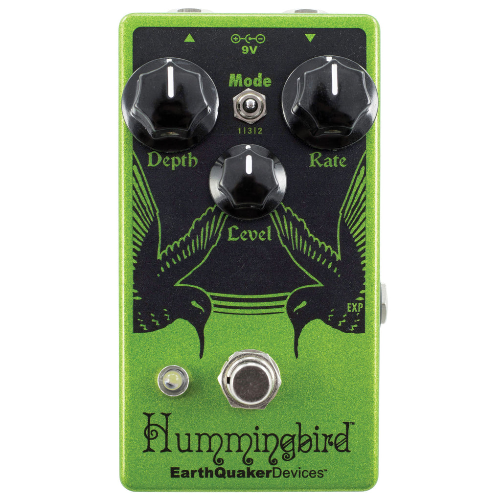 EarthQuaker Devices Hummingbird V4 Repeat Percussions / Tremolo Pedal