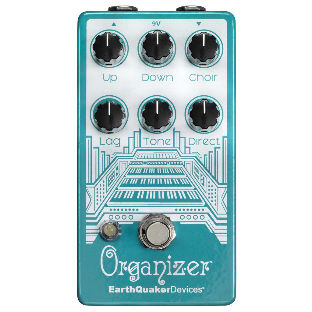 EarthQuaker Devices Organizer V2 - Polyphonic Organ Emulator Pedal