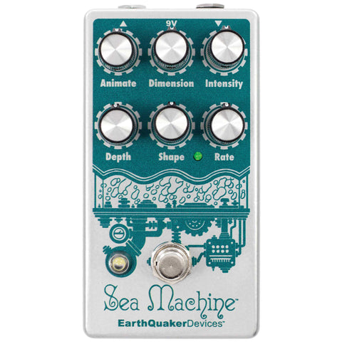 EarthQuaker Devices Sea Machine V3 - Ultimate Parameter Controlled Chorus Pedal