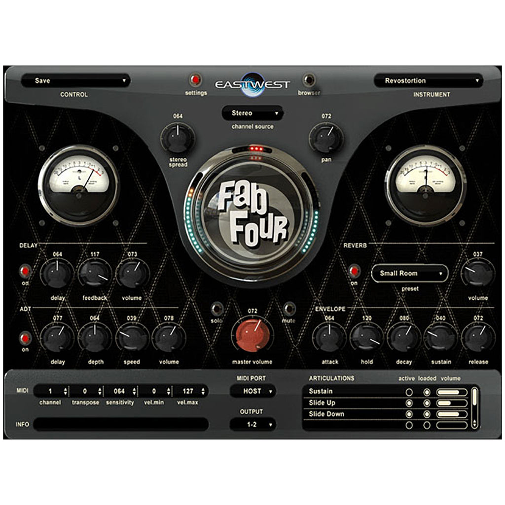 EastWest Fab Four -Virtual Instruments Inspired By The Beatles