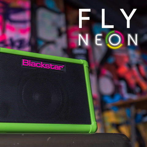 Blackstar Fly 3 Neon Green Special Edition Guitar Amp