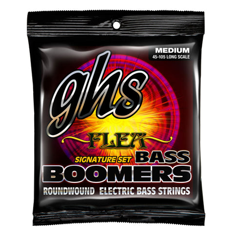 GHS M3045F Flea Signature 45-65-85-105 Bass Boomer Strings