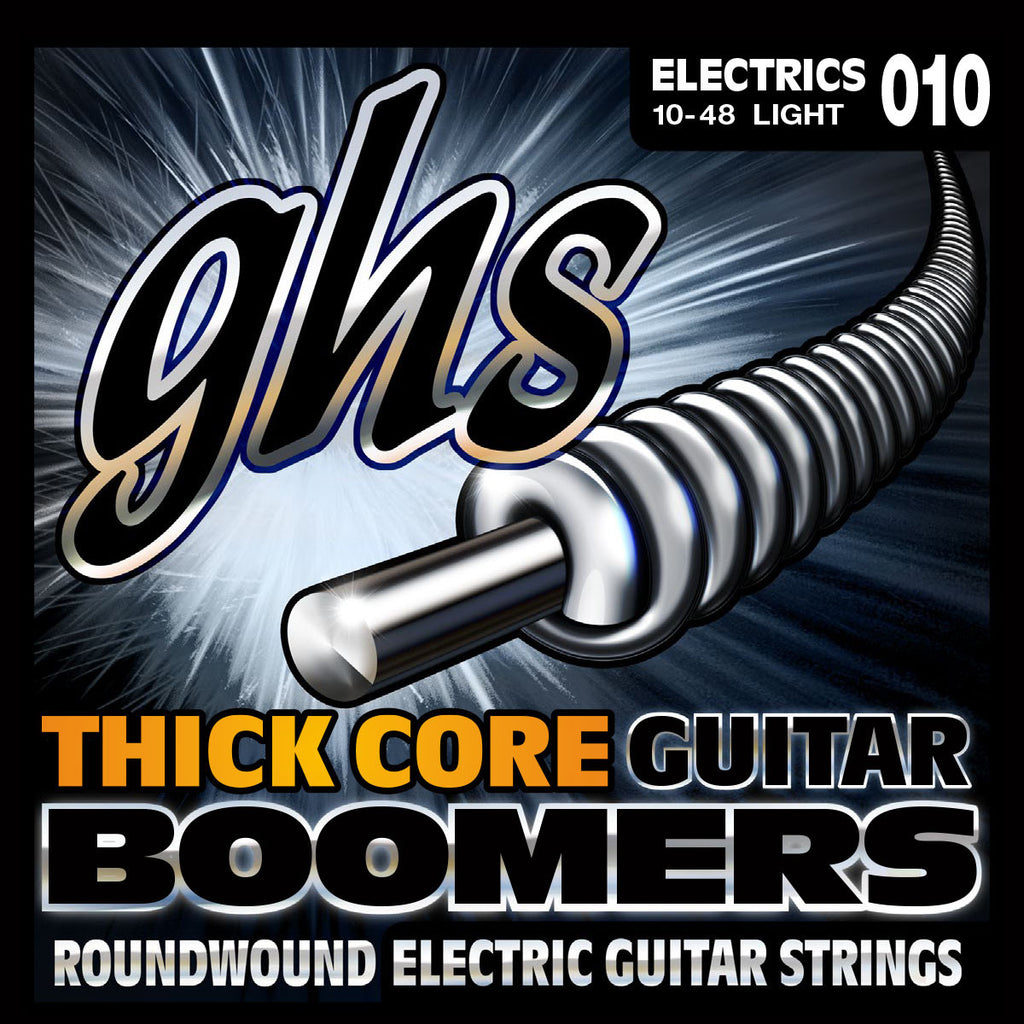 GHS Thick Core Boomers Light 10-48 Electric Guitar Strings (HC-GBL)