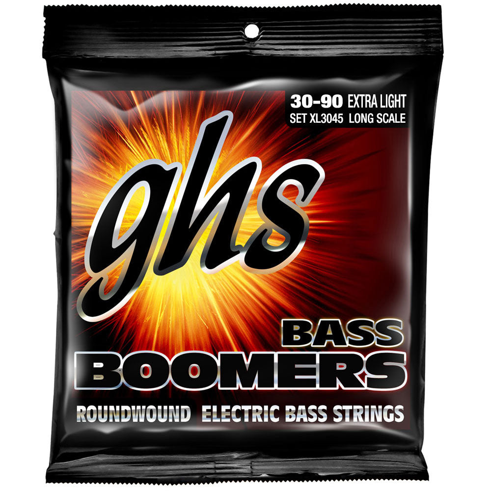 "GHS XL3045 Extra Light 30-00 Bass Boomers (37.25"" winding)"
