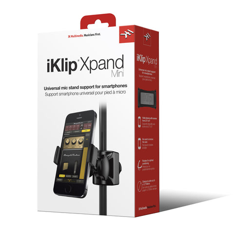 iKlip Xpand Mini Mic Stand Mount for Smart Phones