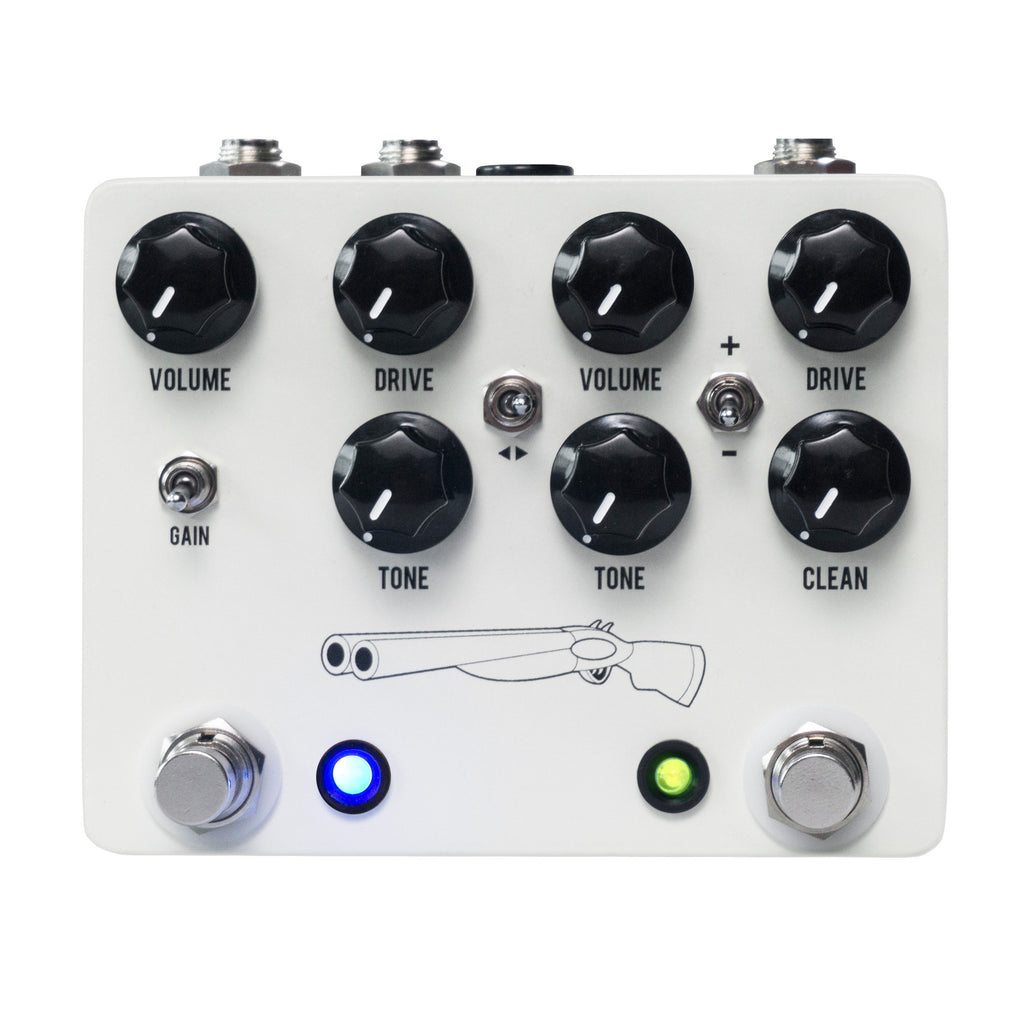 JHS Double Barrel V4 Overdrive/Gain