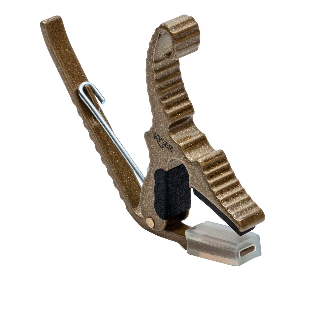 Kyser KG3G Golden Finish Short Cut Partial Guitar Capo