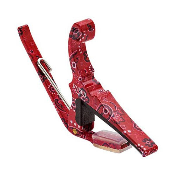 Kyser KG6RB Red Bandana Quick Change Guitar Capo